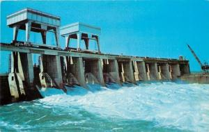 NY~Long Sault Spillway Dam~St Lawrence River~Seaway And Power Project~1957
