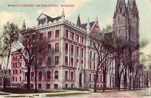MARQUETTE UNIVERSITY GESU CHURCH MILWAUKEE, WI 1910