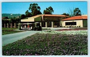 PALOS VERDES PENINSULA, CA  Tram Train SOUTH COAST BOTANIC GARDEN  Postcard