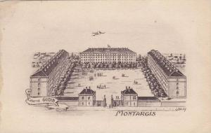 Montargis , Loiret department i, France. 00-10s Fort