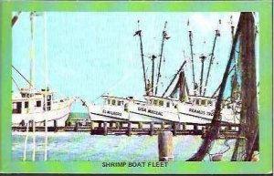 TX Corpus Christi Shrimp Boat Fleet
