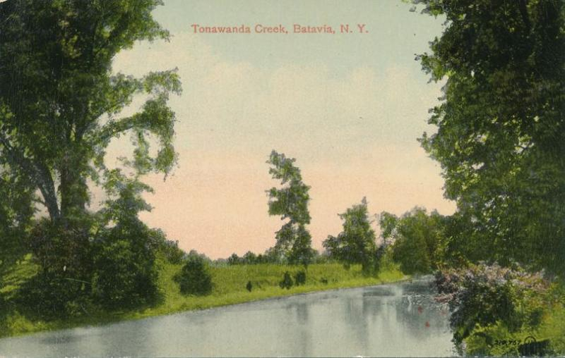 Tonawanda Creek near Batavia NY, New York - DB