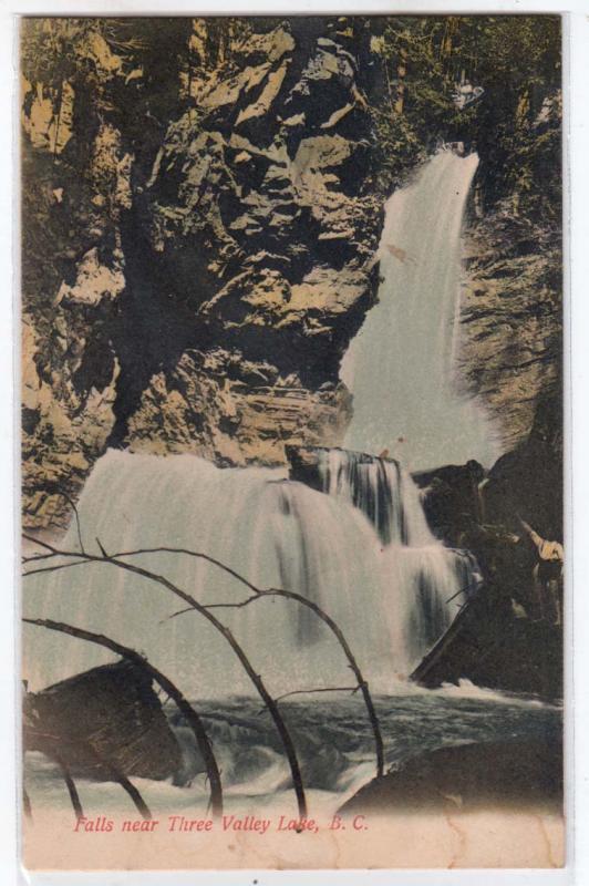 Falls near Three Valley Lake BC