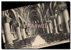 Charleville - Interior of & # 39Eglise - Old Postcard