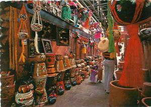 Vintage Postcard The Market Market P Mercado in Metamoros Reynosa Mexico  # 1440
