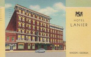 MACON , Georgia , 1930-40s ; Hotel Lanier