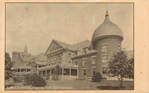 Vintage Postcard Ladies Dormitory Slippery Rock Normal School PA