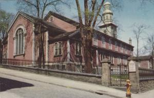 Exterior,  St. Paul´s Church,  Halifax,  Nova Scotia, Canada,  40-60s