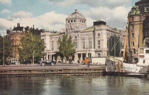 STOCKHOLM, Sweden, PU-1910; The Royal Dramatic Theatre From Nybroviken