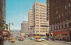 HOLLYWOOD , California , 1950-60s ; Street