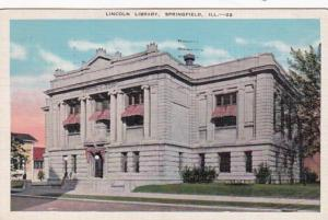 Illinois Springfield Lincoln Library 1941