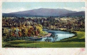 [ Photographic ] US Vermont Burlington - Windsor Valley And Mt. Mansfield