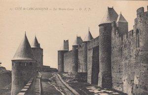 CARCASSONNE, France, 1910-1920s, Cite de Carcassonne - Les Hautes Lisses