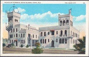 Tampa FL - Palace of Florence, Davis Islands 1920s