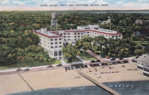 BILOXI , Mississippi , 30-40s ; Hotel Buena Vista & Cottages