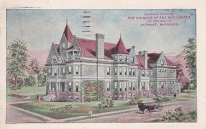 Michigan Detroit Knights Of The Maccabees General Office 1913