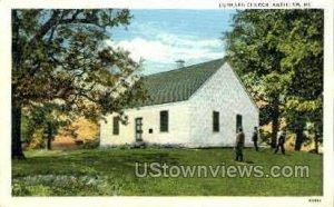 Dunkard Church in Antietam, Maryland