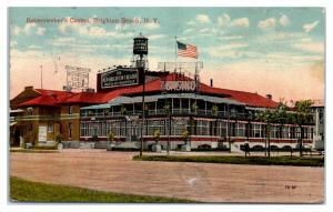 1914 Reisenweber's Casino, Brighton Beach, NY Postcard *5H4
