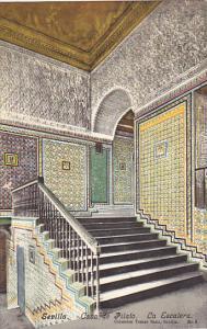 Spain Sevilla Casa de Pilato La Escalera