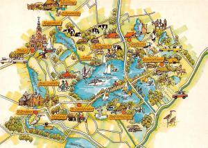 Netherlands Muggenbeet Johen Heetveld Vollenhove Belt Schutsbots Stadtplan Map