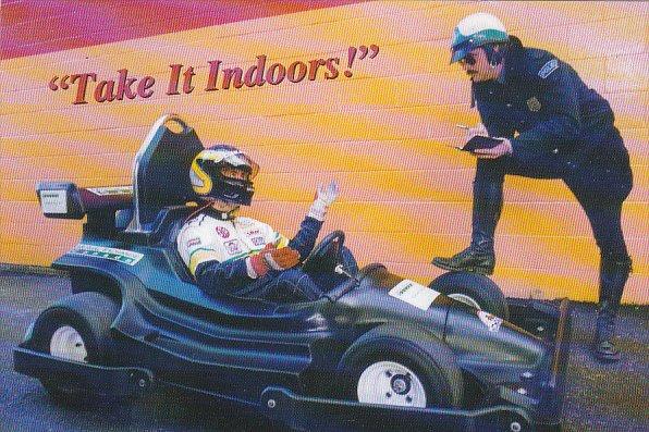 Advertising International Karting Circuit British Columbia's First Indoo...