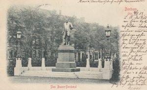 BOCHUM , Germany , 1901 ; Das Barre-Denkmal