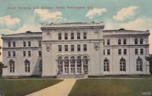 WASHINGTON , D.C. , 1912 ; Grant Building, U.S. Soldiers' Home