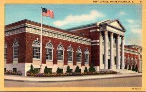 New York White Plains Post Office Curteich