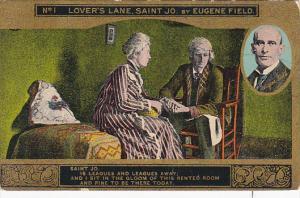 Eugene Field Lover's Lane St Jo Card No 1