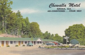 Alabama Eufaula Chewalla Motel sk2840