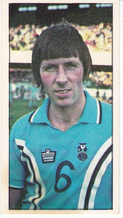 Trade Cards Geo. Bassett FOOTBALL 1978-79 No 30 Mick Coop, Coventry City