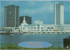 Alabama Mobile Skyline Showing Mobile Convention Center 1996