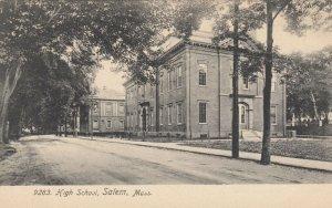 SALEM , Massachusetts, 1901-07; High School