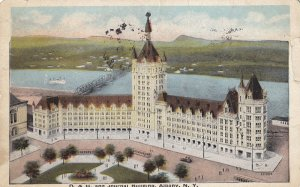 ALBANY, New York, PU-1921; D. & H. And Journal Building