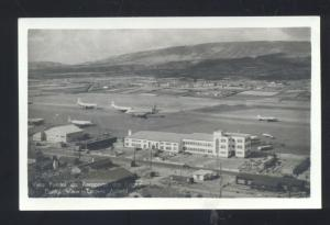 RPPC LAGES AIR BASE TERCEIRA ISLAND AZORES PORTUGAL REAL PHOTO POSTCARD LAJES