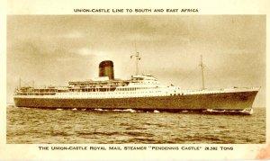 Union-Castle Line - Royal Mail Steamer Pendennis Castle
