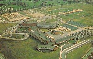 Ann Arbor Michigan~Pioneer High School~Football Stadium~Track~1960s Postcard