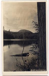 RPPC - Black Bear from 6th Lake, Fulton Chain of Lake