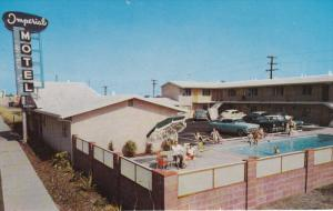 Swimming Pool, Imperial Motel, Imperial Highway, LOS ANGELES, California, 40-...