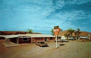 Arizona Tes Nez Iah Navajo Trails Motel and Cafe 1965