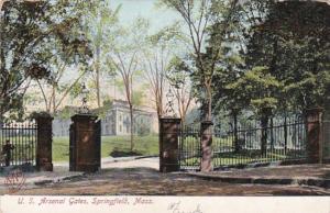 Massachusetts Springfield U S Arsenal Gates