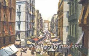 Napoli, Italy, Italia Una Strada a Borgo Loreto  Una Strada a Borgo Loreto