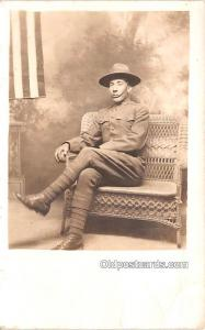 Military Real Photo Post Cards Old Vintage Antique Soldier, Army Men Barney B...
