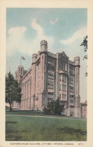 OTTAWA, Ontario, Canada, 1900-10s ; Customs House Building