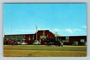 Murdo SD-South Dakota, Pioneer Auto Museum, Chrome Postcard