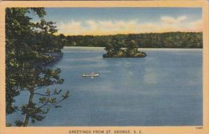 South Carolina Greetings From St George 1944