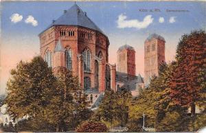 Germany Koeln am Rhein Gereonskirche kirche, Catholic church in Zuelpich