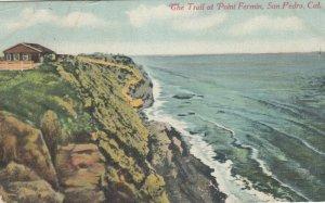 SAN PEDRO, California, 1911; The Trail at Point Fermin