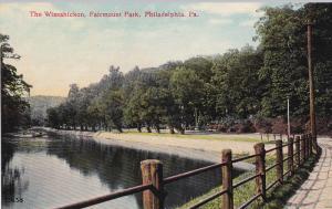 The Wissahickon, Fairmount Park, PHILADELPHIA, Pennsylvania, 1900-1910s