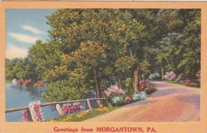 Pennsylvania Greetings From Morgantown